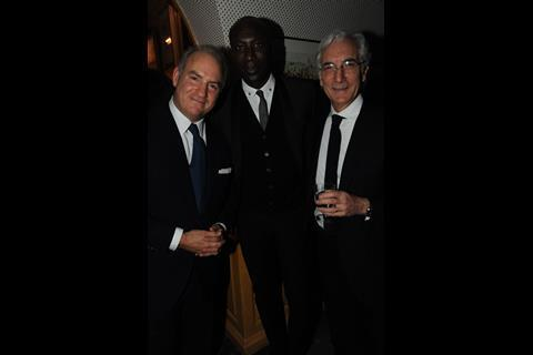 Charles Finch, Ozwald Boateng and Sir Ronald Cohen